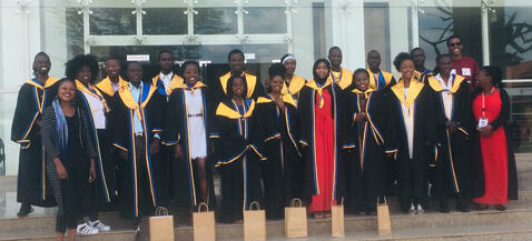 The first Sheria Mashinani cohort graduated on Saturday, 2nd November 2019. The first Sheria Mashinani cohort is the product of a partnership between Strathmore Law Clinic, CrimeSiPoa, the Kenya National Commission on Human Rights (KNCHR), Shining Hope for Communities (SHOFCO) and Nairobi Law Monthly.